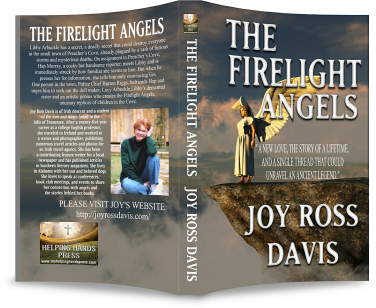 Full cover shot for Firelight Angels in print
