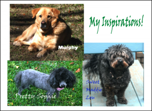Dogs bring inspiration to my writing -- Joy Ross Davis