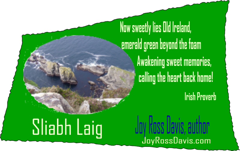 Joy Ross Davis, angelic inspirational fiction, featuring Ireland