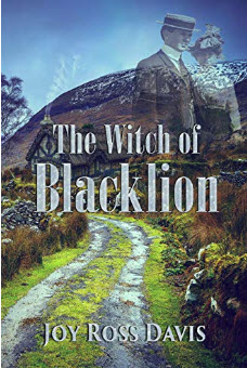 Cover for the witch of blacklion novel
